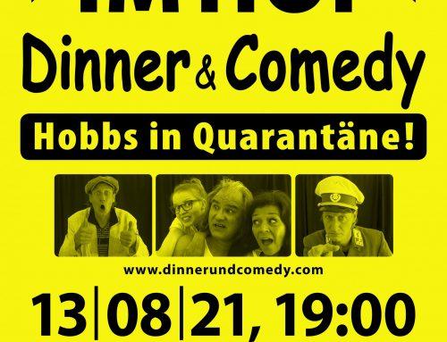 Dinner & Comedy im Hof